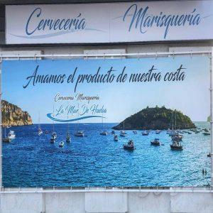 Lona Gran Formato la Mar de Huelva