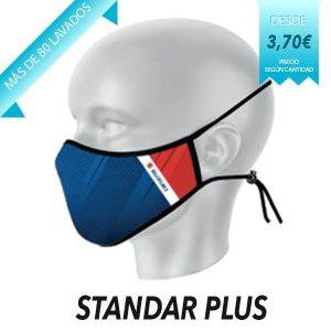 Mascarilla reutilizable modelo Standar Plus